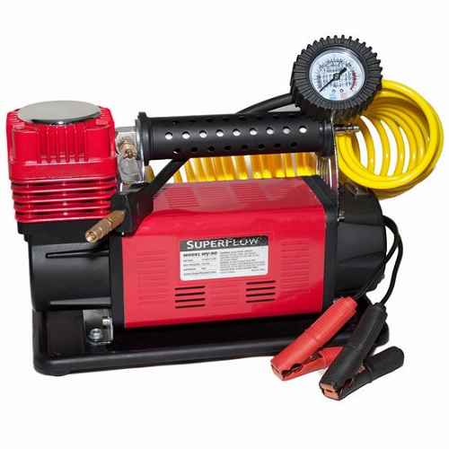 SuperFlow Ultimate 12 volt Portable Air Compressor SUPMV-90 | Tool Discounter