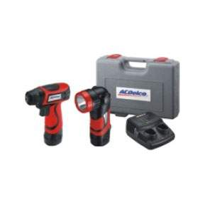 5 pc: drill / driver, LED Flashlight, & Battery Pack ACDARD847L | Tool Discounter