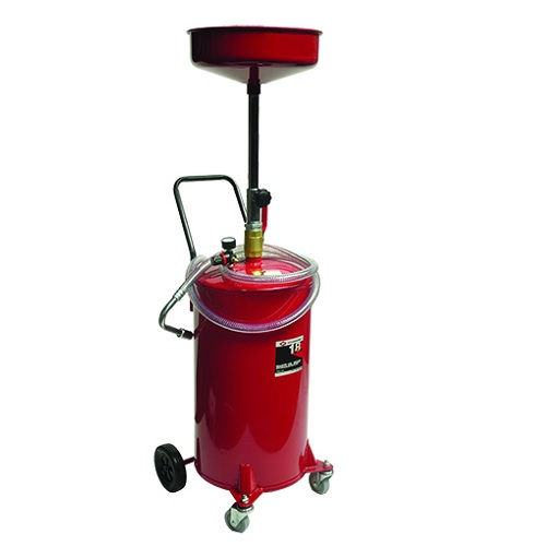 18 Gallon Waste Oil Drain W/Air Evacuation AFF8893 | Tool Discounter