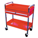 Tubular Frame Tool Cart w/ Locking Padded drawers AFF951 | Tool Discounter