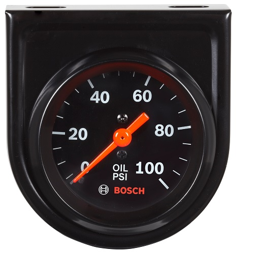 GAUGE, OIL PRESSURE, MECHANICAL, BLACK - STYLELINE BOSFST8216 | Tool Discounter