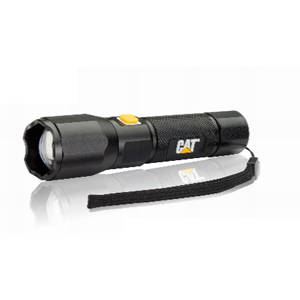 Rechargeable Tactical Focusing Flashlight, 420 lumens EZRCT2405 | Tool Discounter
