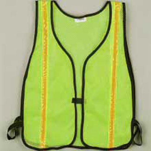 Lime Green Vest - Soft Mesh CHH55110 | Tool Discounter
