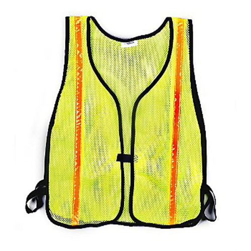 Lime Green Vest - w/Reflective Stripes CHH55115 | Tool Discounter