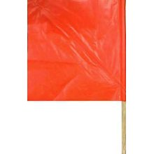 Nylon Traffic Flag with 24 inch Handle CHH55300 | Tool Discounter