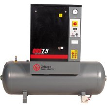 7.5 hp Rotary Screw Air Compressor - 3 phase CHPQRS7.5HP-3 | Tool Discounter