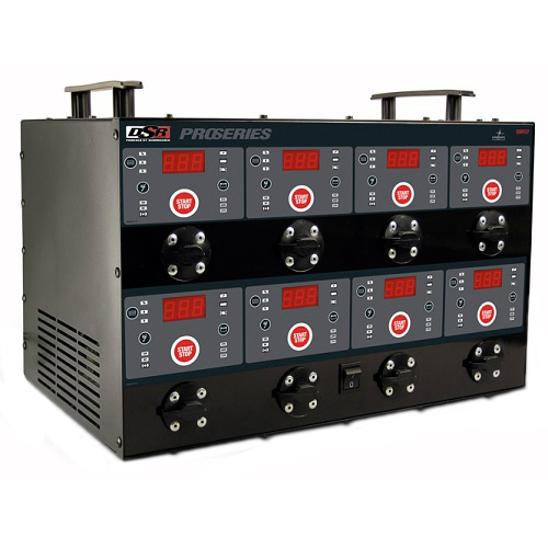 6/12 Volt 8 Bank Automatic Battery Charging Station DSRDSR127 | Tool Discounter