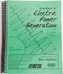 ESSENTIALS OF ELECTRIC POWER GENERATION GUIDE ESP183 | Tool Discounter