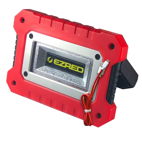 Magnetic COB LED Work Light, Red EZRXLM500-RD | Tool Discounter
