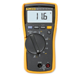 HVAC MULTIMETER WITH TEMP AND MICROAMPS FLU116 | Tool Discounter