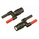 DUAL BANANA JACK (FEMALE) TO MALE BNC ADAPTER FLUPM9082/001 | Tool Discounter