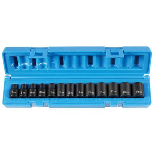 Socket Set, Impact, 3/8 GRY1213M | Tool Discounter