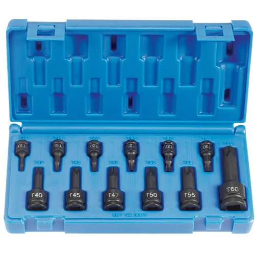 Impact, Internal Torx Set, 1/4, 3/8 and 1/2 Inch GRY1234T | Tool Discounter
