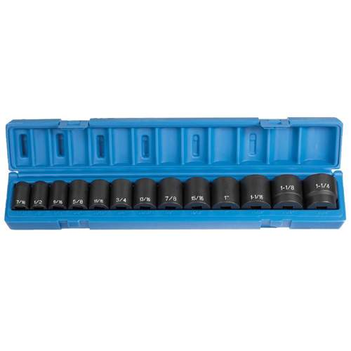 Impact Socket Set, 1/2 GRY1312 | Tool Discounter