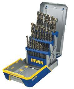 29 pc Titanium Metal Index drill Bit Set HAN3018003 | Tool Discounter
