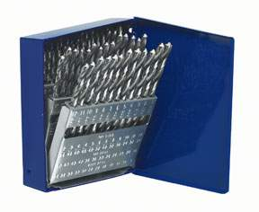 drill Bit Set, 60 Piece, #1 - #60 HAN80181 | Tool Discounter