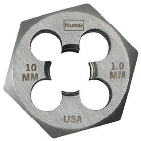 10mm x 1.0 Metric Die HAN9738 | Tool Discounter