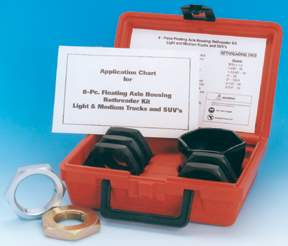 8-PC FLOATING AXLE HOUSING THREAD RESTORER KIT KAS2577 | Tool Discounter