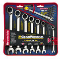 8 PC REVERSIBLE COMBINATIONINATION RATCHETING WRENCH SET SAE KDT9533N | Tool Discounter