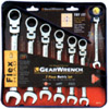 Gear Wrench Set, Flex, 7 Piece, Metric KDT9900D | Tool Discounter