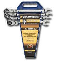 FLEX HEAD 4 PC 12 PT METRIC WRENCH KIT KDT9903D | Tool Discounter