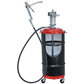 AIR-OPERATED PORTABLE GREASE PUMP PACKAGE LIN6917 | Tool Discounter