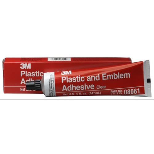 Plastic and Emblem Adhesive, 5 oz MMM8061 | Tool Discounter