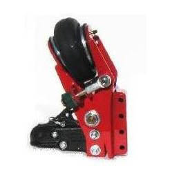Tongue Mount Industrial Hitch with Vertical Channel SHHSH-400PR | Tool Discounter