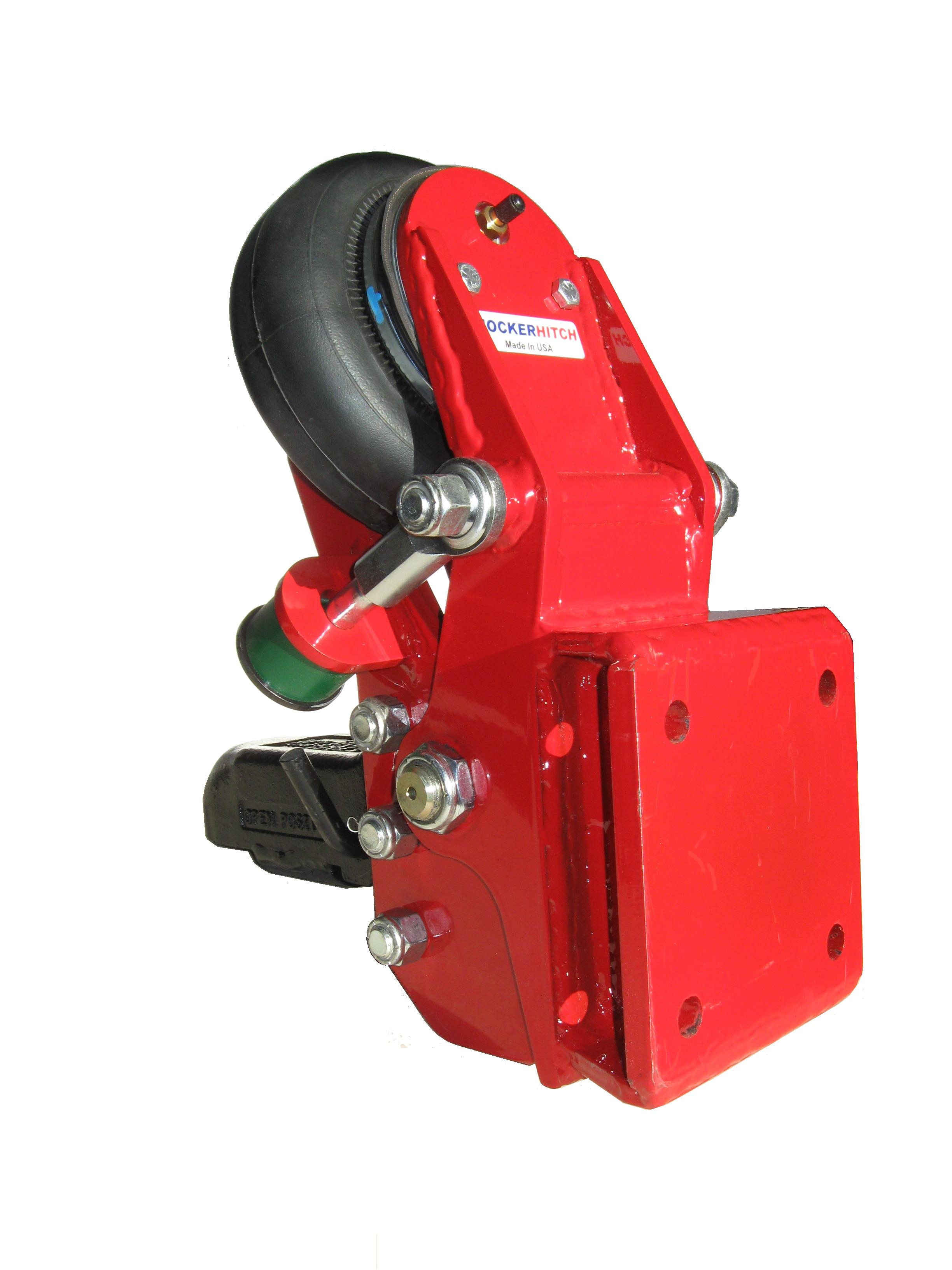 Tongue Mount Industrial Hitch with Square Plate SHHSH-420BC | Tool Discounter