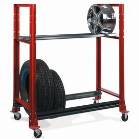 Tire Trolley, Two Tier SHU973726 | Tool Discounter