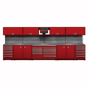 16 foot Pre-Configured Workstation SHUSTS-D9 | Tool Discounter