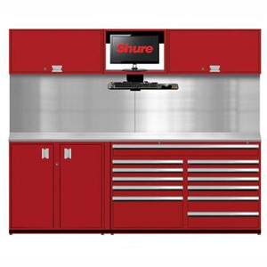 8 foot Pre-Configured Workstations SHUSTS-S1 | Tool Discounter