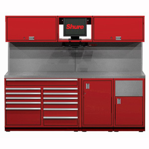 8 foot Pre-Configured Workstations SHUSTS-S4 | Tool Discounter