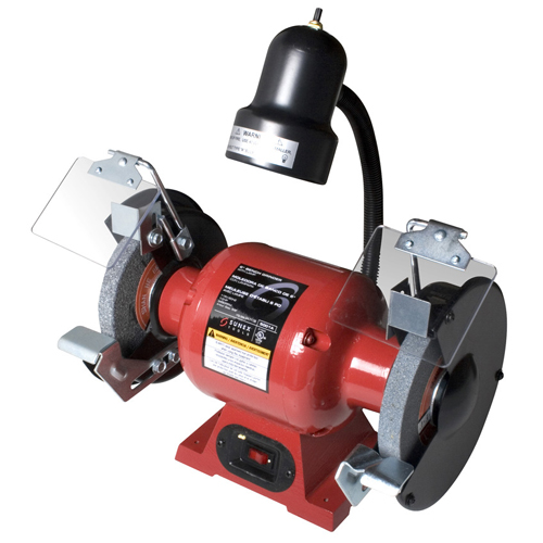 6 INCH BENCH GRINDER W/ LIGHT SNX5001A | Tool Discounter