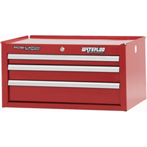 Professional Series 26-in 3 Drawer Chest Red WATPIN-263RD | Tool Discounter