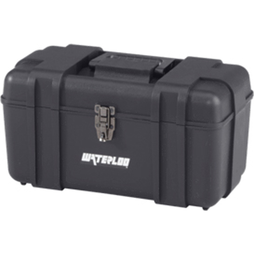 17-inch Wide Portable Plastic Tool Box WATPP-1709BK | Tool Discounter