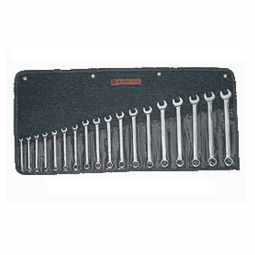 18 PC 12 PT METRIC POLISH COMBINATIONINATION WRENCH SET WRI958 | Tool Discounter