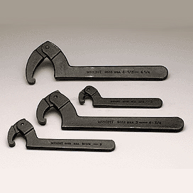 4 PC FRACTIONAL SPANNER WRENCH SET WRI9629 | Tool Discounter