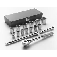 1/2 INCH DR 12 PT 16 PC SOCKET SET WRIA41 | Tool Discounter